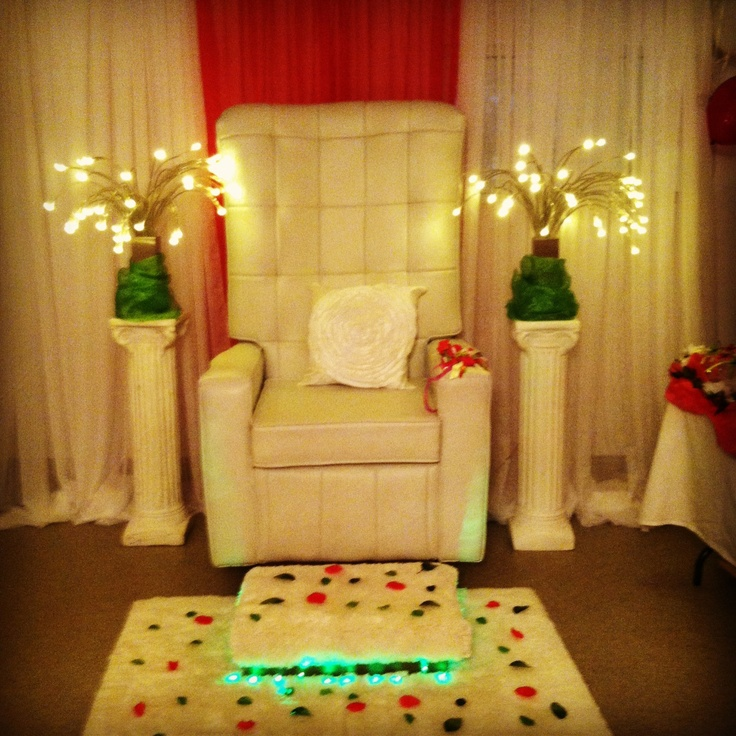 Babyshower chair design and rental