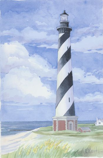 Cape Hatteras Lighthouse by Paul Brent