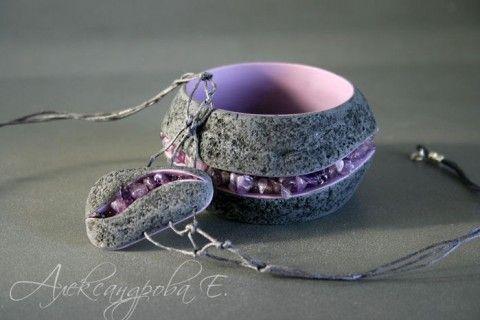 Браслеты и другие украшения из полимерной глины (Евгении Александровой).