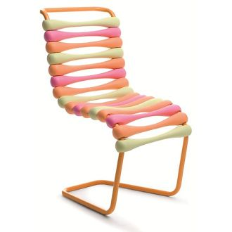 Karim Rashid Boing Chair - a stackable chair with a pop soul.