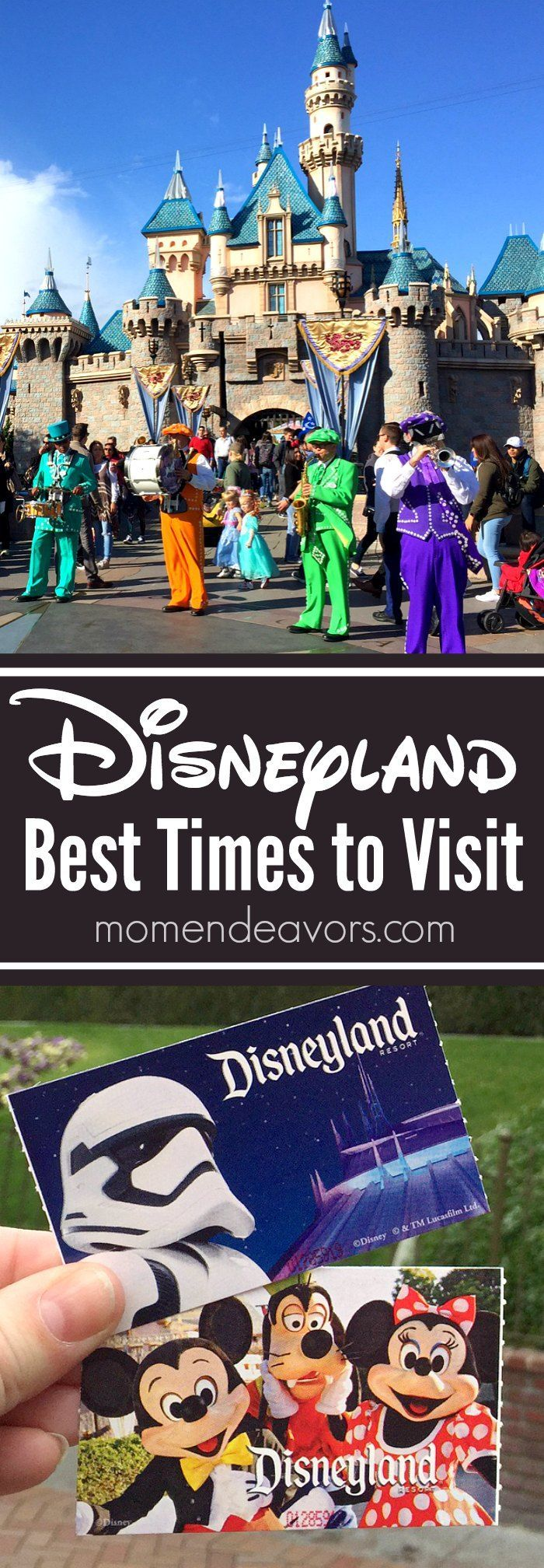 Disneyland Trip Planning - Best Times to Visit the Disneyland Resort!