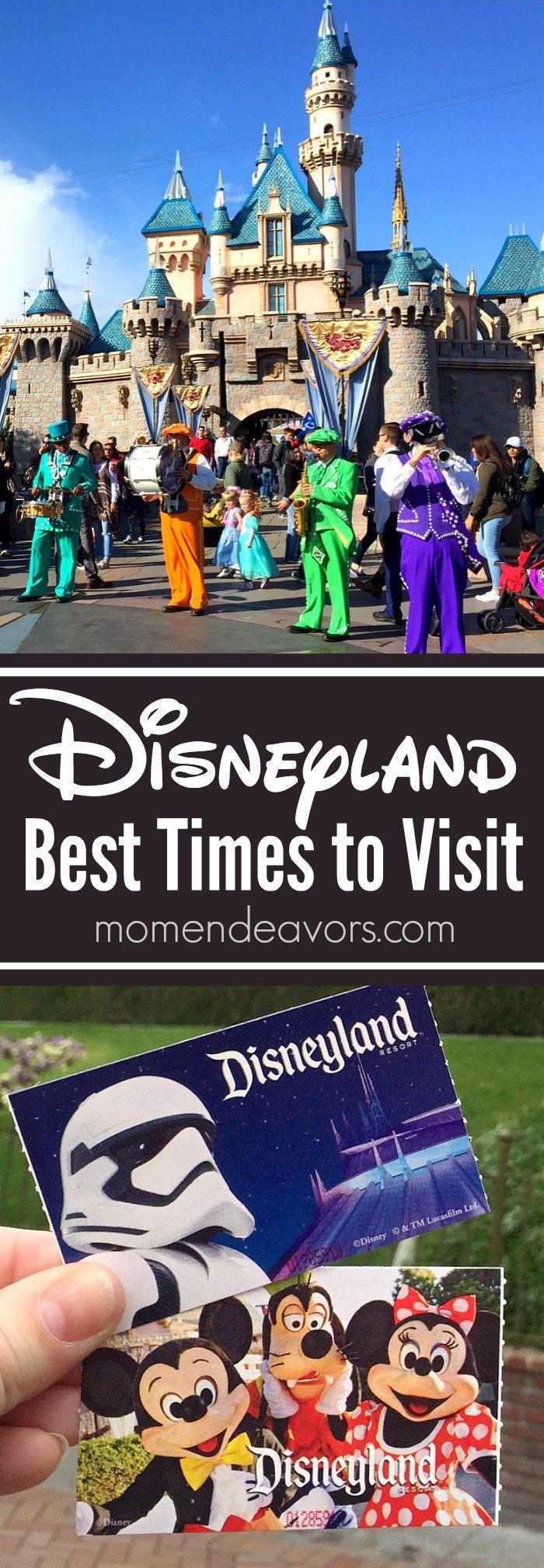 Disneyland Trip Planning - Best Times to Visit the Disneyland Resort!