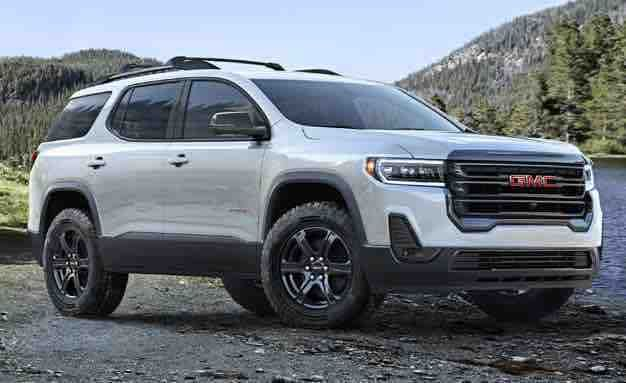 2020 Gmc Acadia Refresh Suv Models Gmc Gmc Suv