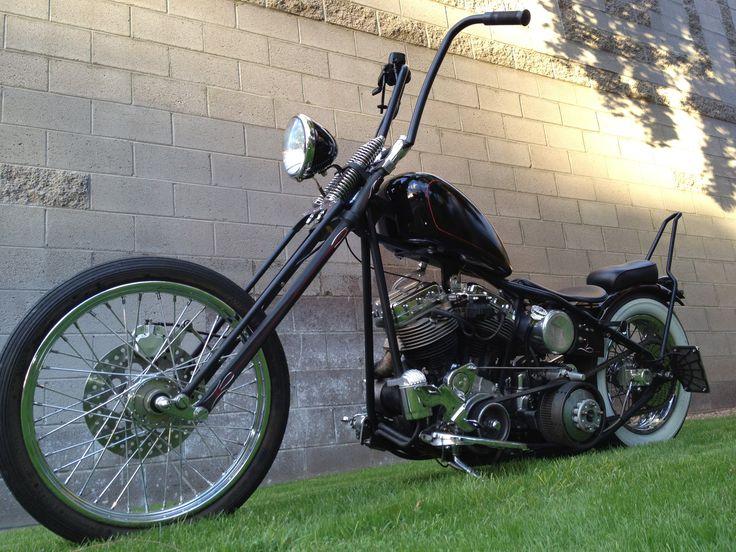 Vintage Harley Davidson Panhead Chopper | Harley davidson ...