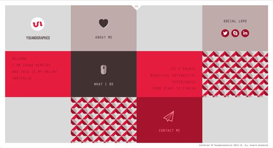 Web design portfolios - Irene Demetri