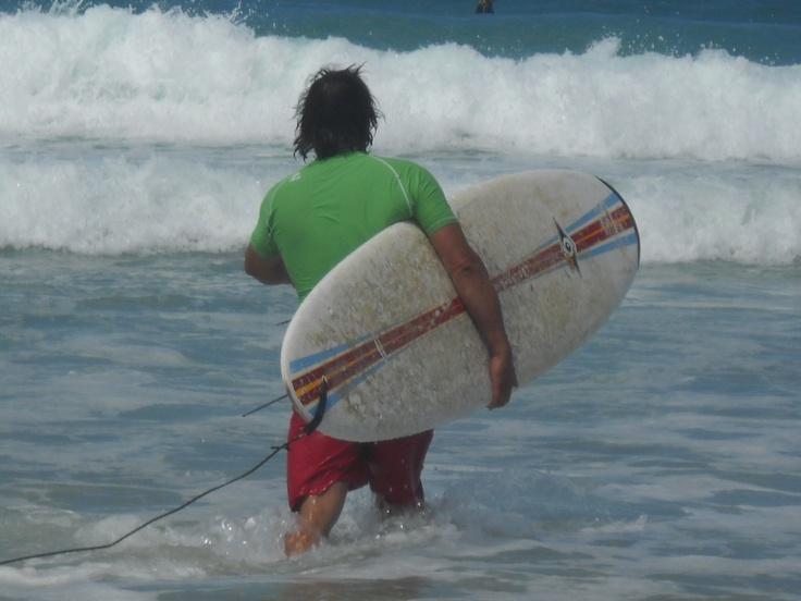Beach surfing..,