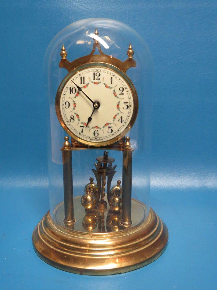 Vintage Kieninger Amp Obergfell Kundo Anniversary Clock