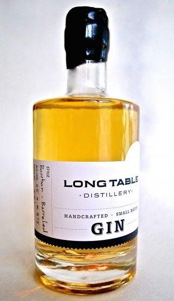 Long Table Bourbon Barrel Gin, , Long Table Distillery, Vancouver, BC