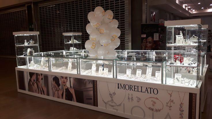 Allestimenti vetrine e punti vendita per brand gioielleria