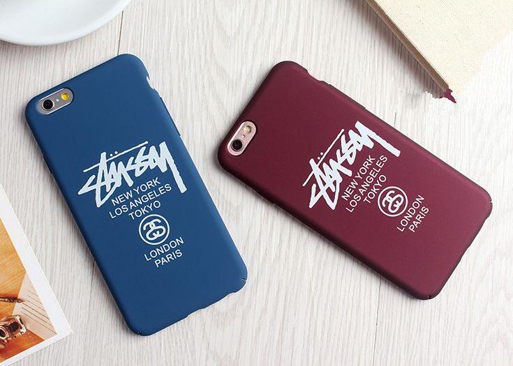 便利なiPhone7ケース STUSSYファッションブランド - cureco beta