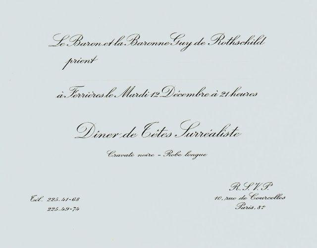 Scala Regia Inspirational Archives: Bal Surrealiste