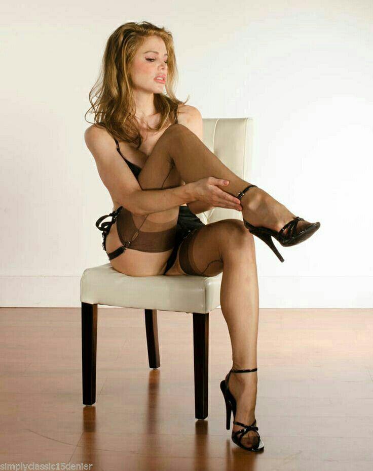 Leggy simone pantyhose stunning