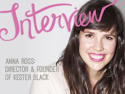 An interview with Kester Black nail polish founder/director Anna Ross