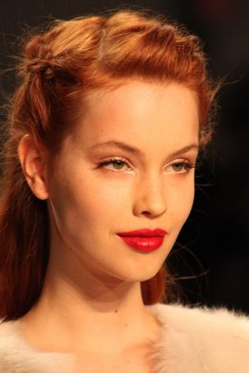 Get the Look: Ethereal Makeup at Nanette Lepore FW 2011