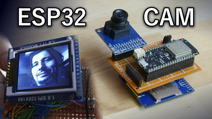 ESP32 with Camera and TFT Display (OV7670, FIFO) T…