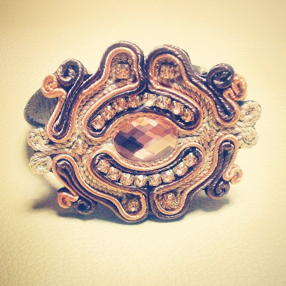 Original Soutache Bracelets, Custom Made by Little Venice Designs