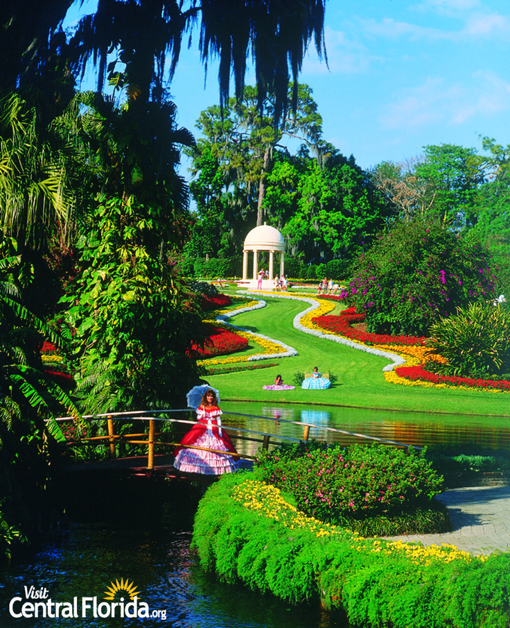 Cypress Gardens - Winter Haven, Florida, Historic Central Florida
