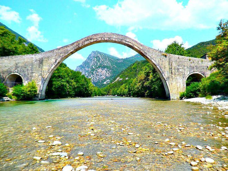 ΜΟΝΟΤΟΞΟ ΓΕΦΥΡΙ ΠΛΑΚΑΣ(Το μεγαλύτερο στα Βαλκάνια!)