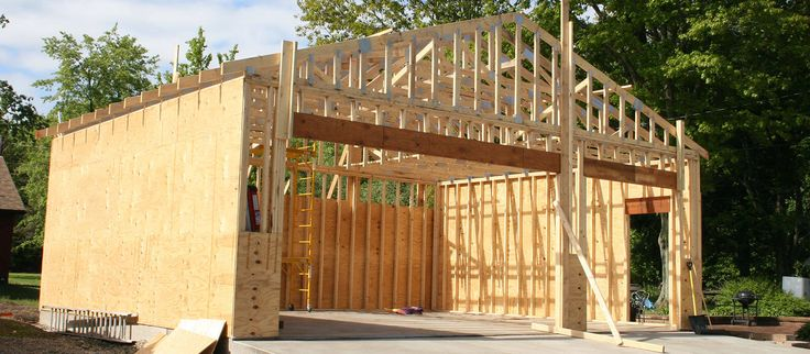 Wie baue ich eine Garage (mit Bildern) Garage bauen