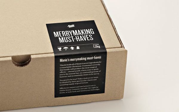 manic (singapore) | merrymaking must-haves packaging
