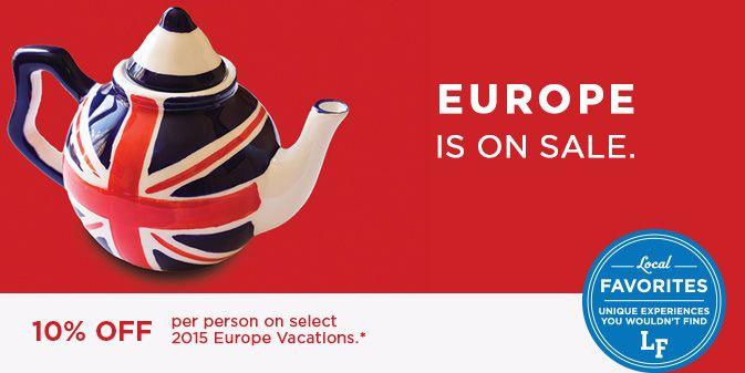 Europe Escorted Tour Deals