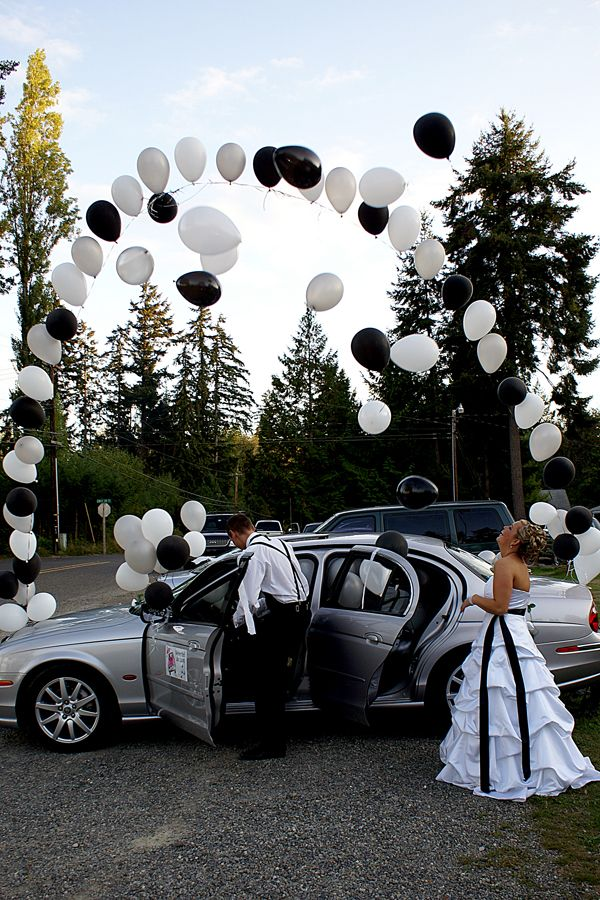 Getaway Car - Wedding Photo Ideas | Wedding Planning, Ideas & Etiquette | Bridal Guide Magazine