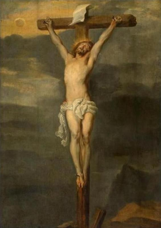 Anthony van Dyck - Christ on the cross
