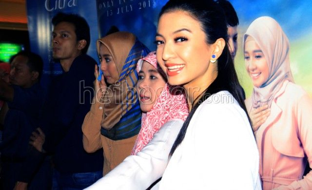 Raline Shah: Aku Tidak Setuju dengan Poligami www.heibogor.com