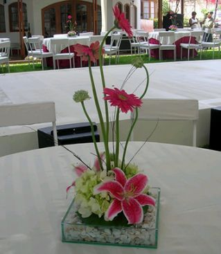 ... com: Decoración de Bodas, Centros de Mesa y Arreglos Florales Rojos 4