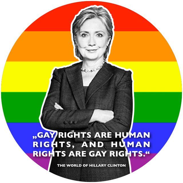 hillary clinton gay rights   NPR Star Shocker: Ten Needling Terry Gross Questions on Gays Cause ...