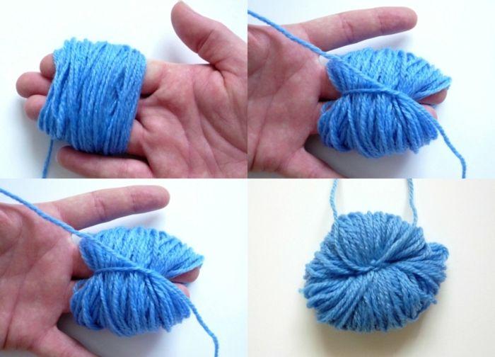 0f61554e06d8 ▷ 1001 + ideas sobre cómo hacer pompones de lana | Manualidades ...