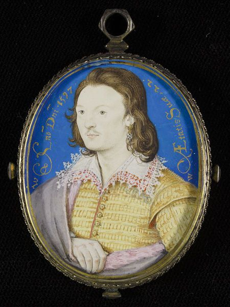 An Unknown Man | Hilliard, Nicholas | V&A Search the Collections