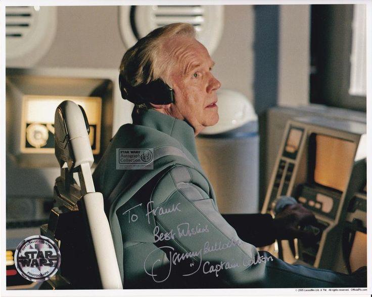 Jeremy Bulloch #captaincolton #revengeofthesith #starwars #autograph