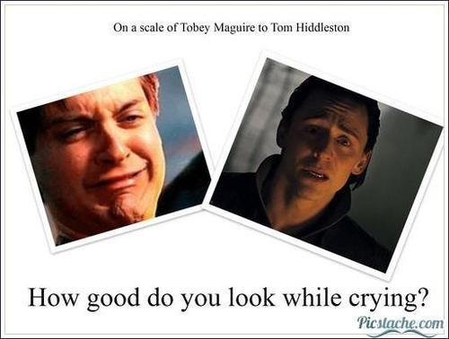 I'm totally tom hiddleston hahaha