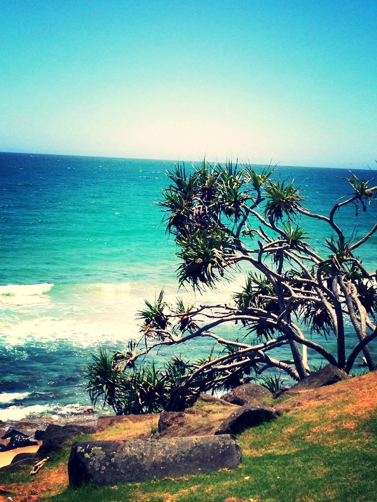 Beautiful Burleigh Heads! Gold Coast, Australia. :)