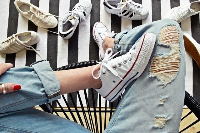 #lifehack | 8 Tipps, wie man Schuhe & Sneakers wieder strahlend weiß bekommt | luzia pimpinella | Bloglovin'