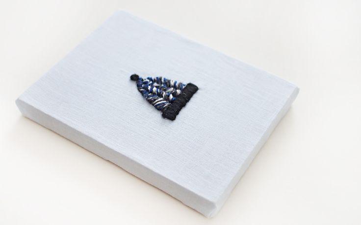 編み物とウール刺繍