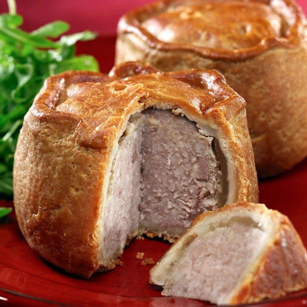 Melton Mowbray Pork Pies-Became popular among the fox hunting set.