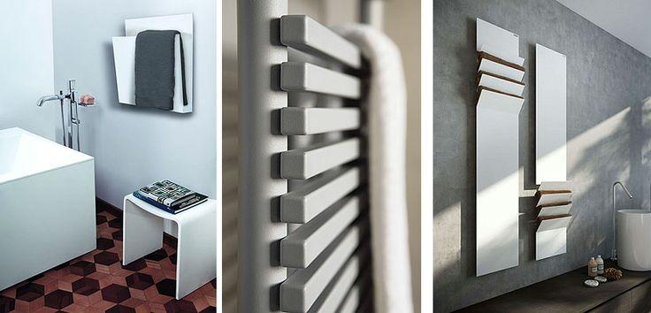 Calentador de toallas, un accesorio útil en tu baño - http://www.decoora.com/calentador-de-toallas-un-accesorio-util-en-tu-bano.html