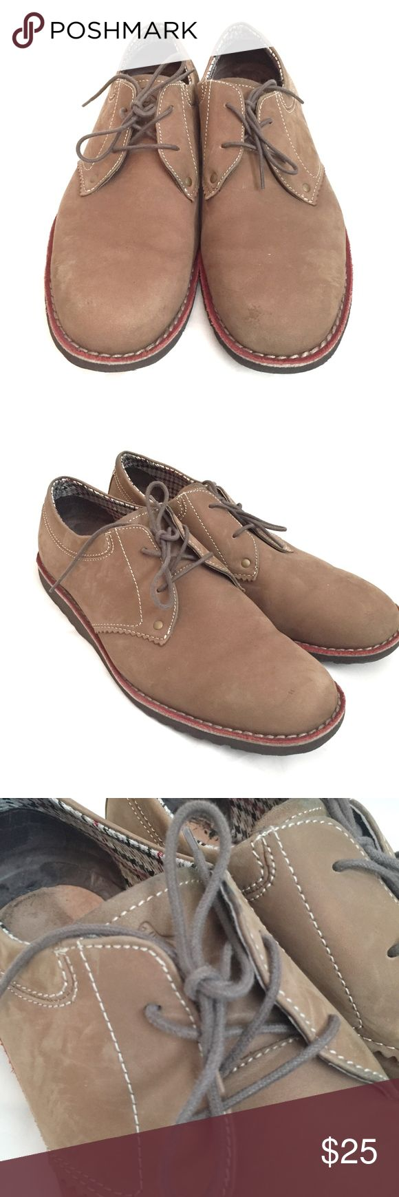 Men's Brown Oxford Lace-up Penguin brand Shoes Penguin brand. Oxford brown lace-up shoes. Men's Size 10.5. In amazing condition. Original Penguin Shoes Oxfords & Derbys
