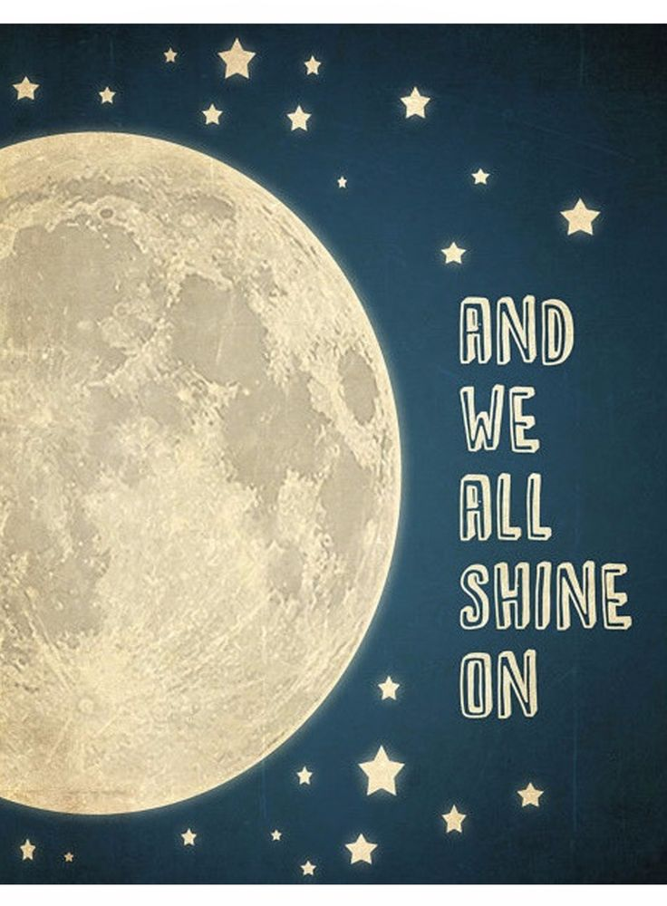 And We'll All Shine On