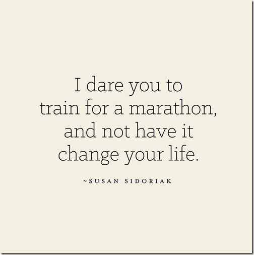 Marathon Gratitude via @Rachel Steffen   I dare you to train for a marathon and not have it change your life!
