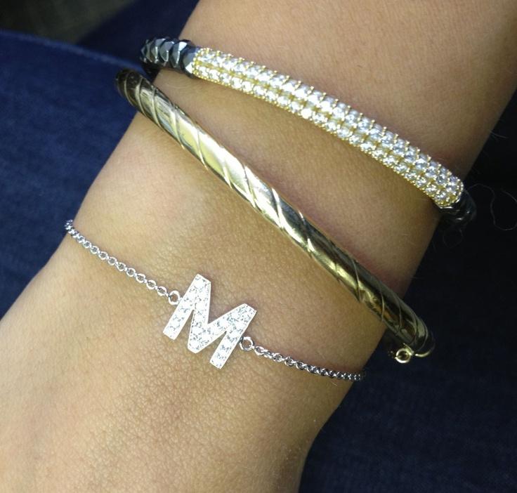 M Initial Bracelet Best Bracelets