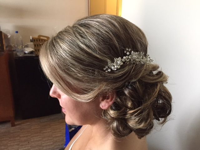 Pin By Weddings By Crystal On Wedding Bridal Hair Beautiful Wedding Hair Wedding Hairstyles Wedding Hair And Makeup