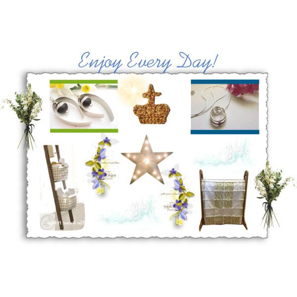 Enjoy Every Day by cozeequilts on Polyvore featuring Wyld Home and rustic