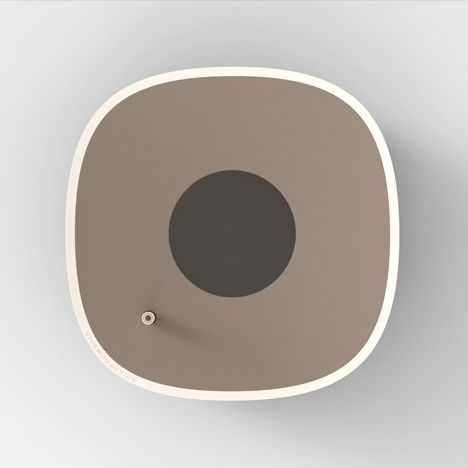 Circle Or Dot By Giha Woo - waste paper bin and pencil sharpener
