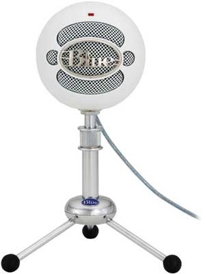 blue snowball mic - Thank you for my Uncle who bought this for me :)