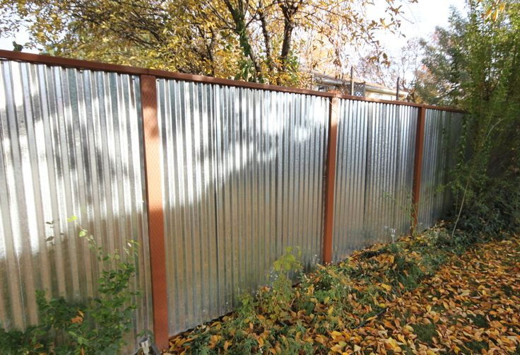 Steel Fence Outdoor Ideas Pinterest Metals Sheds