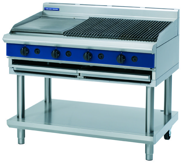 Eattucker  - Blue Seal G598-LS Gas CharGrill -1200mm wide, $5,380.00 (http://www.eattucker.com/cafe-commecial-catering-cooking-equipment/blue-seal-g598-ls-1200mm-gas-chargrill/)