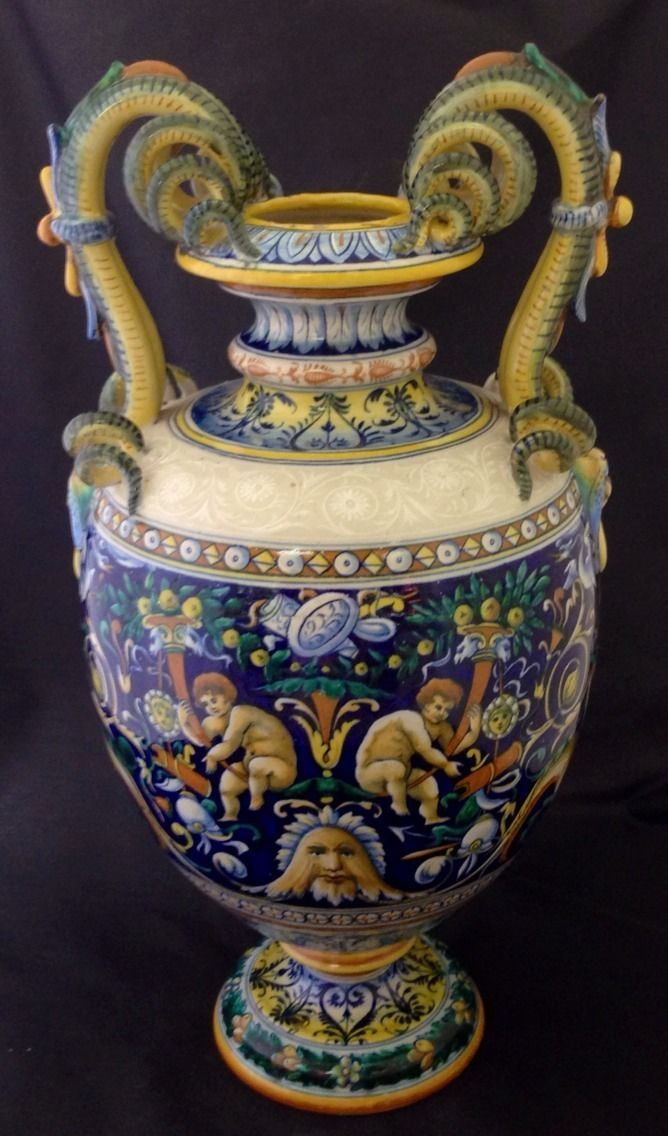 74 Best Italian Ceramics Late 19th Amp Early 20th C Images On Pinterest Ceramic Art Charger